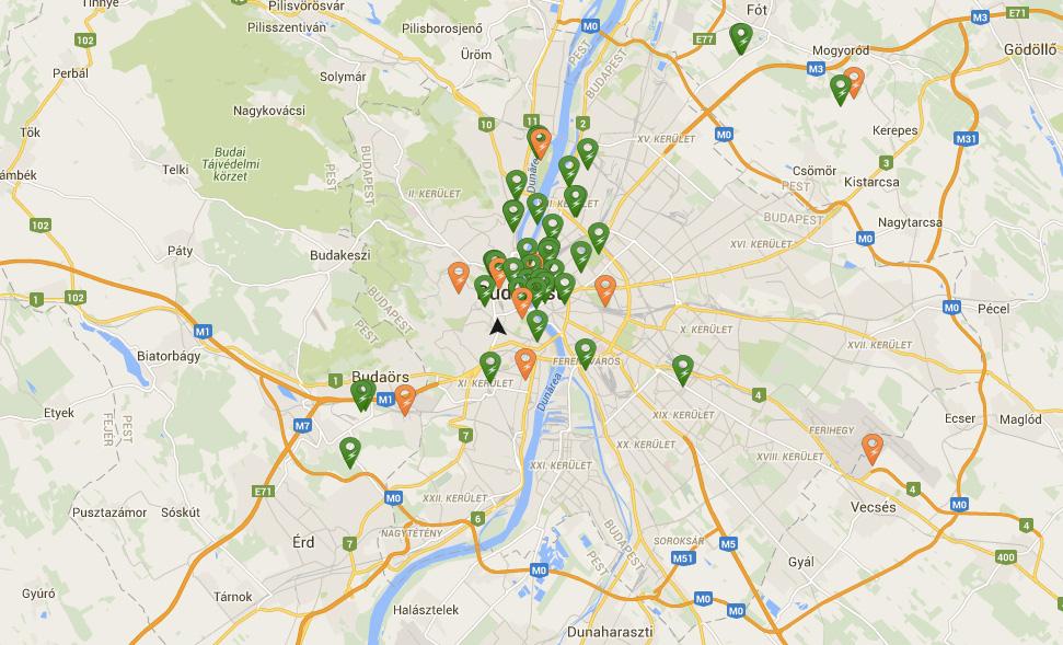elektromos töltőállomás magyarország térkép Elektromos autó töltőállomások Magyarországon   Villanyautósok