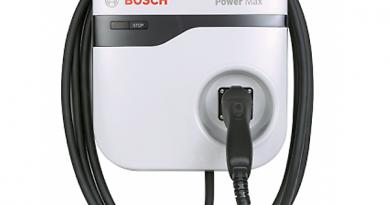 Bosch fali töltő