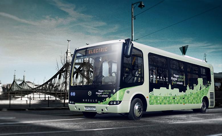 Modulo elektromos busz