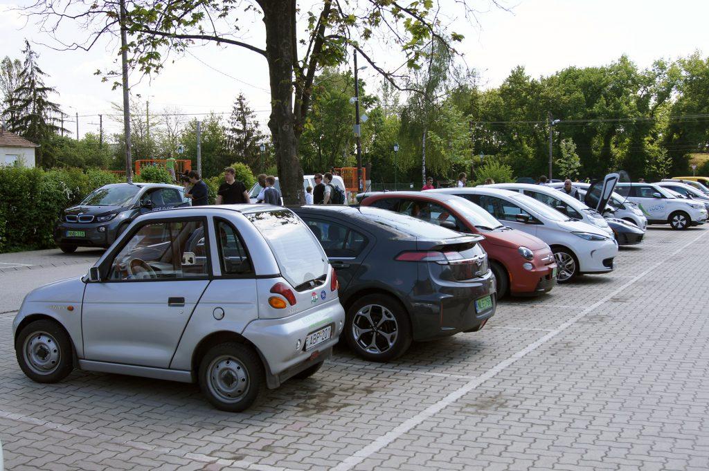 Elektromos autó találkozó