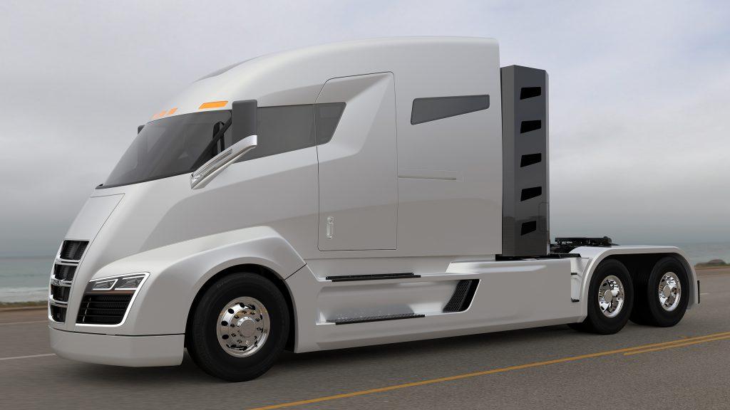 Nikola One elektromos kamion