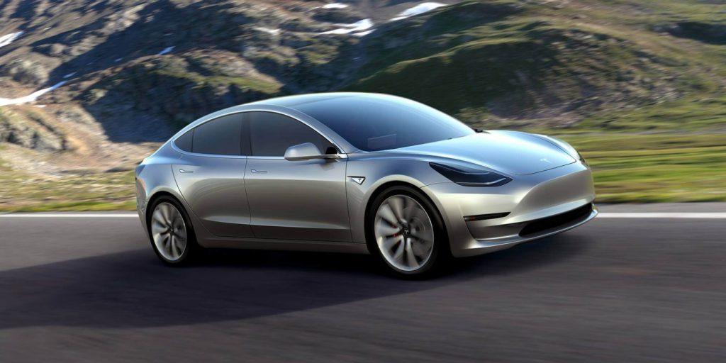 Tisztán akkumulátoros Tesla Model 3