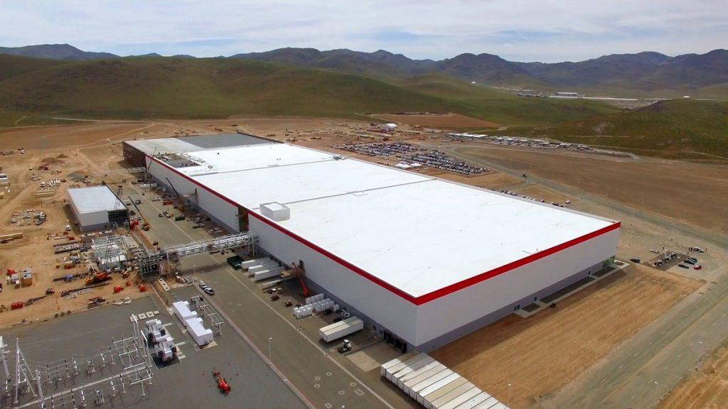 A Tesla Gigafactory jelenlegi formája (fotó: Teslacentral.com)