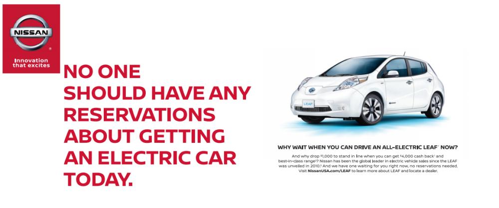 Nissan hirdetés 2016. május
