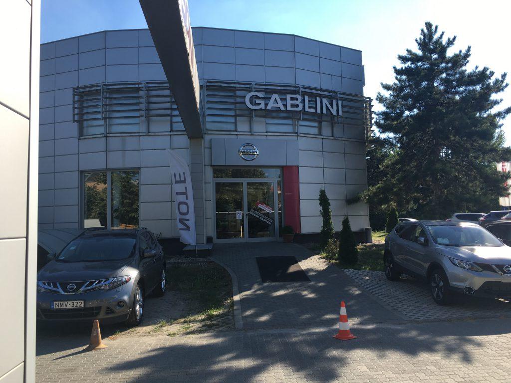 Nissan Gablini Zugló