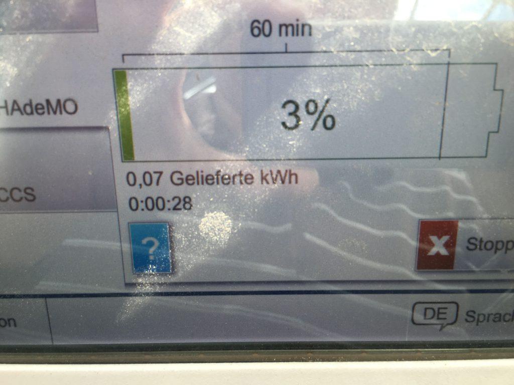 Már csak 3% energia volt az akkuban, ami 5-6 km-re még elég lett volna.