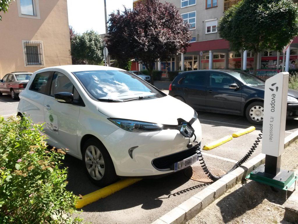 A töltő 22 kW-os (fotó: Kerpely Ádám)