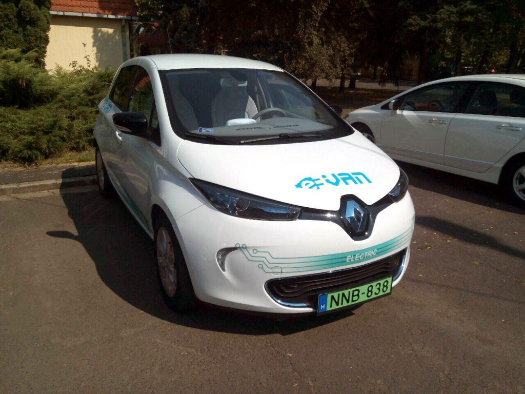Renault Zoe elektromos kisteherautó