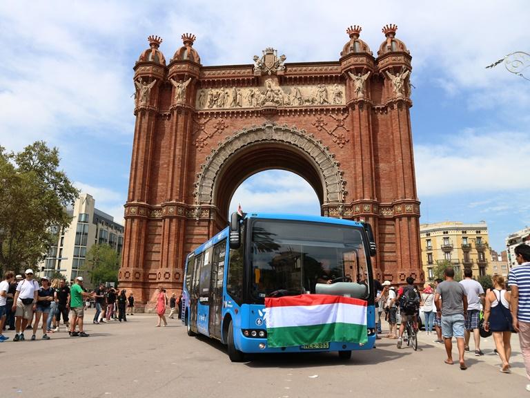 80 eDays, Arc de Triomf befutó Barcelonában