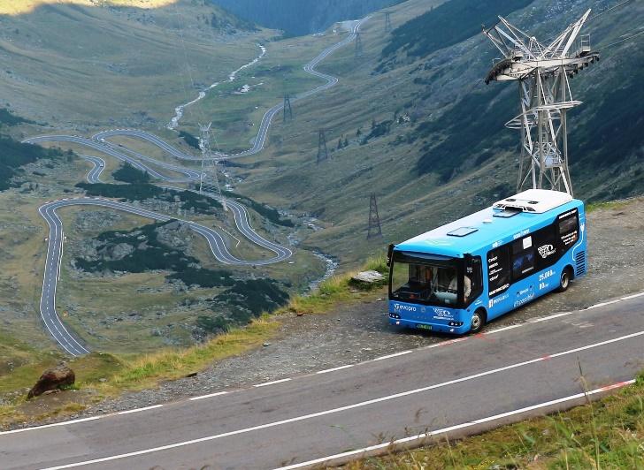 80 eDays, elektromos Modulo Romániában a Transzfogarasi autóúton
