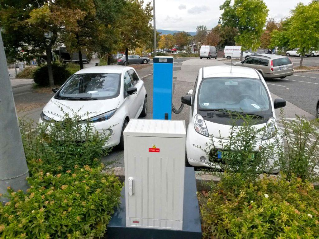 Elektromos autó töltő Veszprémben