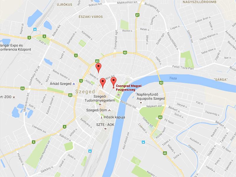 Szegeden 3 helyen épül összesen 22 töltő