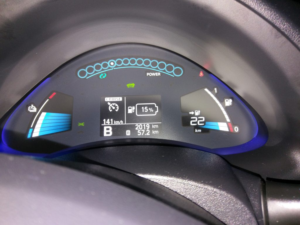 30 kWh-ás LEAF első etap vége