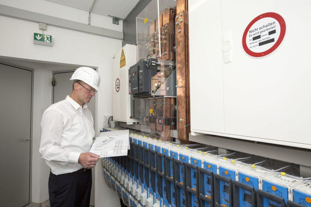 Energiatároló egység Hamburgban