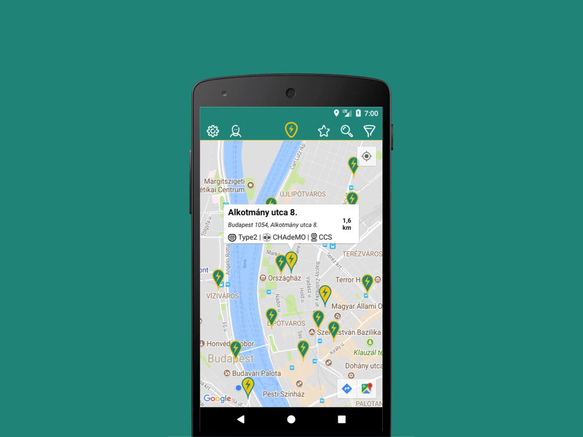 Toltopont Villanyauto Tolto Kereso Alkalmazas Androidra Is