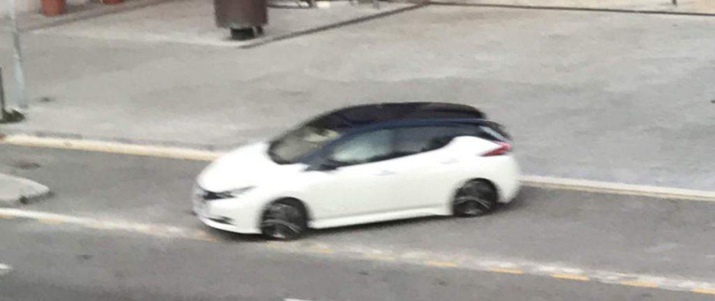 reklámfilm forgatáson az új Nissan LEAF