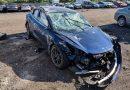 Model 3 baleset – így törik rommá a kis Tesla