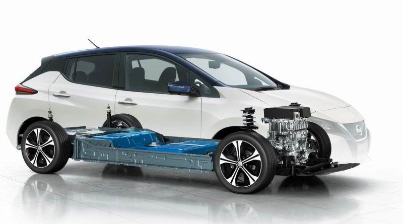 Nissan Leaf visualization