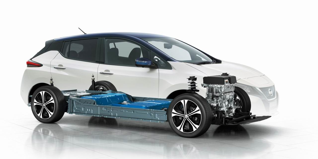 Nissan Leaf visualization
