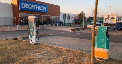 Elkészült a Mobiliti és a Decathlon második közös töltője