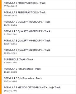 Formula-E_2019_R4_Mexico_schedule