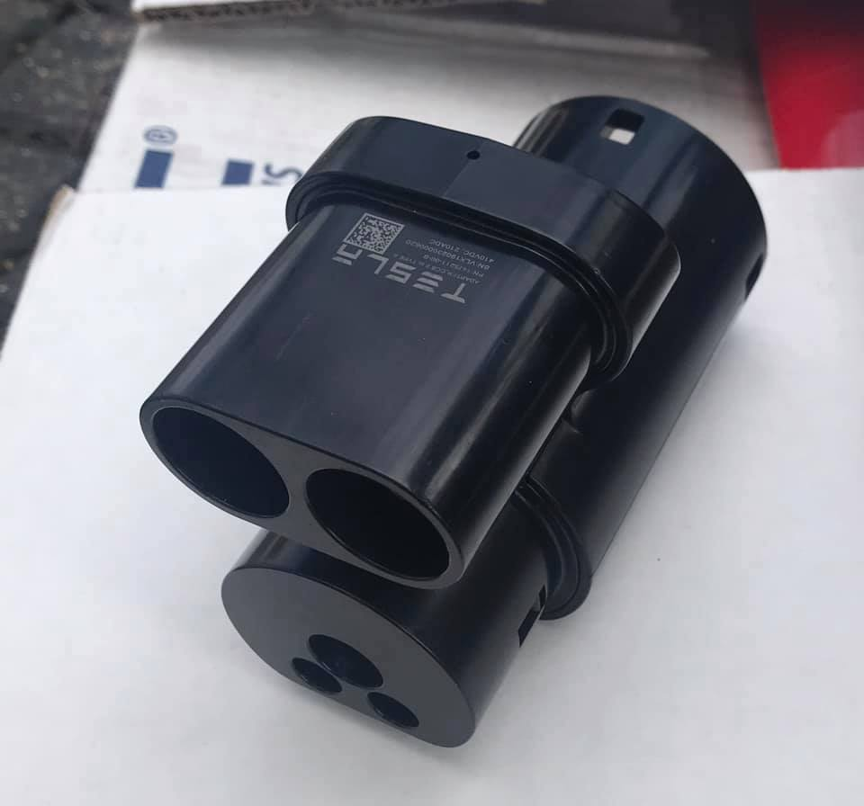 Tesla CCS adapter