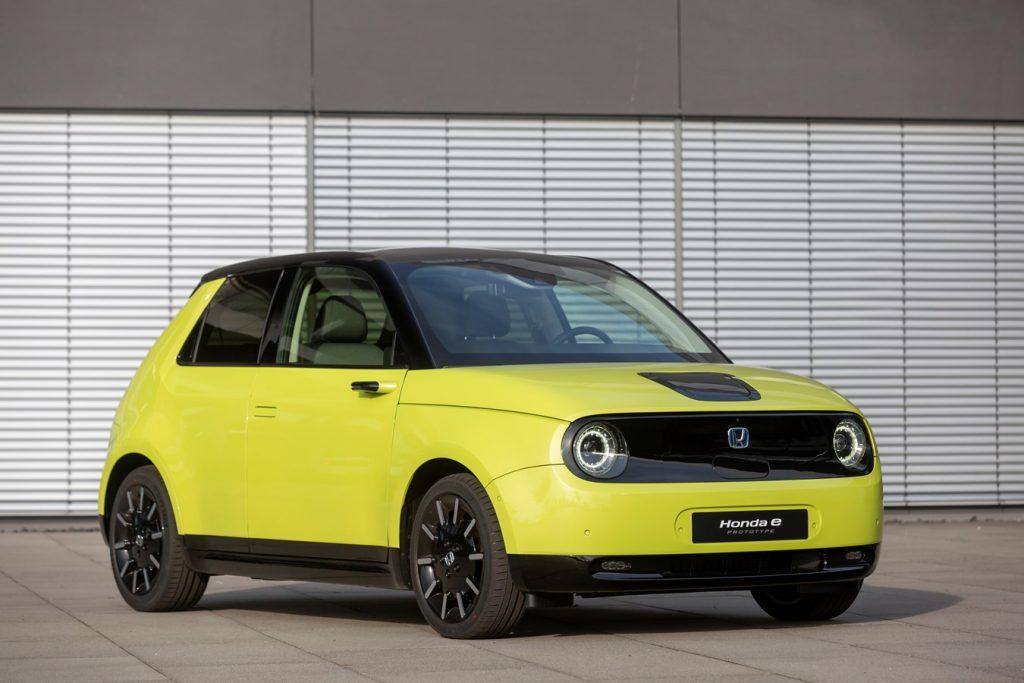 Honda e elektromos autó
