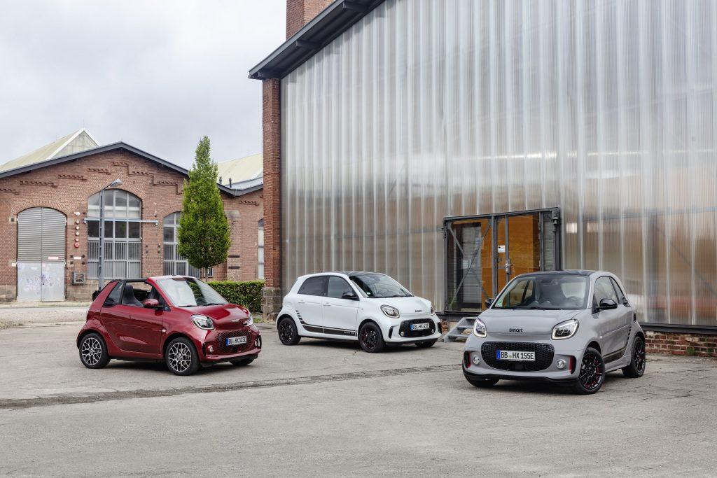 Smart EQ elektromos autó