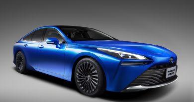 Piszkosul megszépült a Toyota hidrogénautója