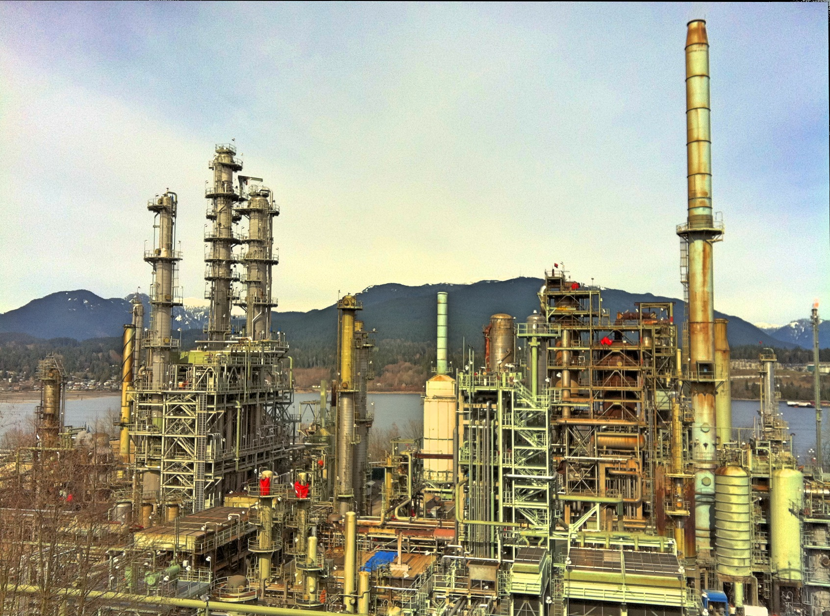 April 2011 in British Columbia, Burnaby, British Columbia, Chevron Corporation, Flickr images reviewed by trusted users, Malayalam loves Wikimedia event - 2011 April, Oil refineries in Canada