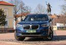 BMW iX3 fogyasztása ősszel