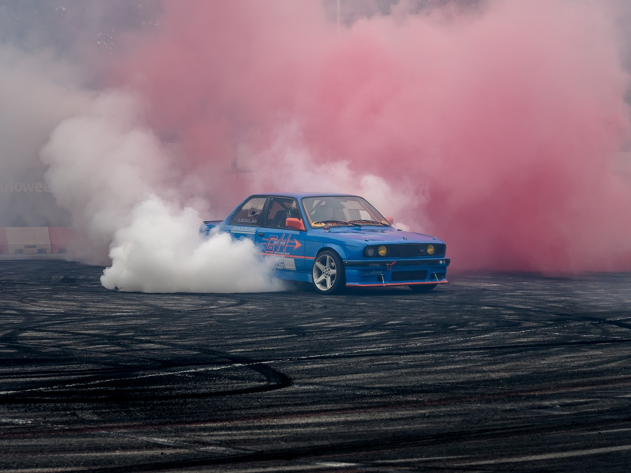 BMW E30 moving or in sport, CC-Zero, Drifting, Sports cars, Tires