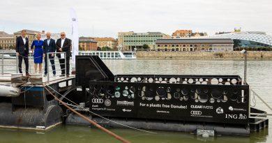 Dunát tisztít az Audi Budapesten