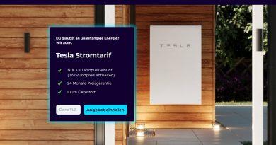 A németeknél zöld energiát vásárolhatsz a Tesla aksidhoz